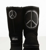 Peace Sign Boots