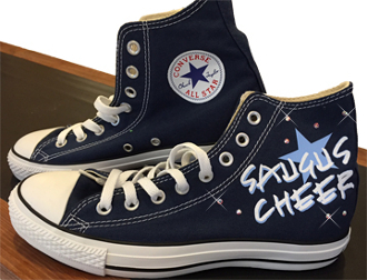 Saugus Cheer Custom Converse