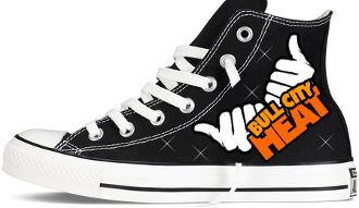 Bullcity Heat Cheer Custom Converse