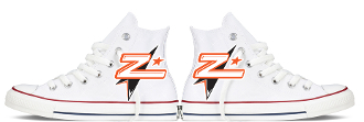 Carolina Flipz Custom Converse