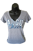 Saugus Football V-Neck T-Shirt