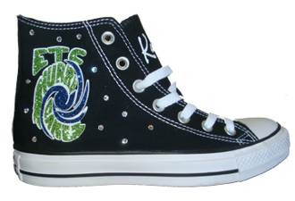 Eastern Tumble Custom Converse
