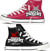 Triple Threat Custom Converse