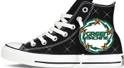 Green Machine Custom Converse