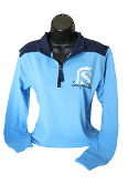 SHS Two Tone 1/4 zip Pullover